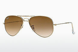 Nuċċali tax-xemx Ray-Ban AVIATOR FOLDING (RB3479 001/51) - Dehbi