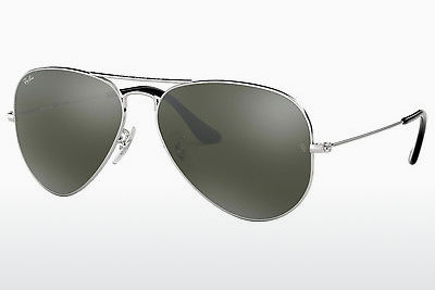 Nuċċali tax-xemx Ray-Ban AVIATOR LARGE METAL (RB3025 W3277) - Il-fidda