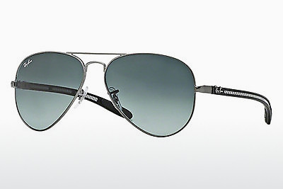 Nuċċali tax-xemx Ray-Ban AVIATOR TM CARBON FIBRE (RB8307 029/71) - Griż, Gunmetal