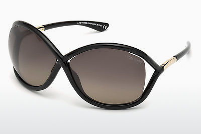 Nuċċali tax-xemx Tom Ford Whitney (FT0009 01D) - Iswed, Shiny