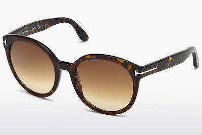 Nuċċali tax-xemx Tom Ford Philippa (FT0503 52F) - Kannella, Dark, Havana