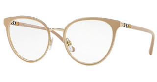 Burberry BE1324 1266 BEIGE/LIGHT GOLD